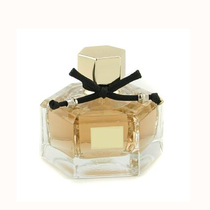 hexagonal perfume bottle with decoration