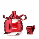 empty perfume bottle with butterfly tops