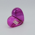 30ml heart shape perfume packaging
