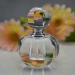 crystal round perfume oil bottle