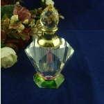traditional crystal perfume bottle design
